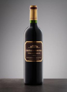Packshot de bouteille de vin