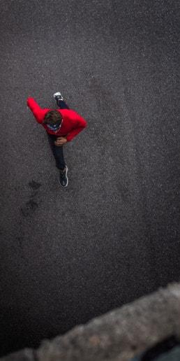 Course à pied sur route